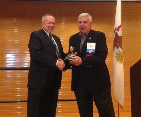 Sieron receives IAR Political Involvement Award   Real Estate Plus+ Daily News   Scoop.it