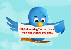 eFront Learning: 1000 eLearning Twitter Users Who Will Follow You Back | Tecnologia Instruccional | Scoop.it