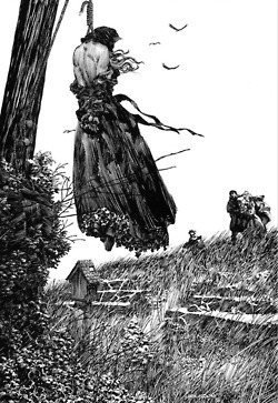 "Bernie Wrightson Illustrations of Mary Shelley's ""Frankenstein"" 