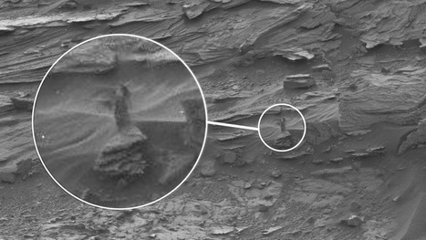Mysterious, woman-shaped figure spotted on Mars | Prozac Moments | Scoop.it