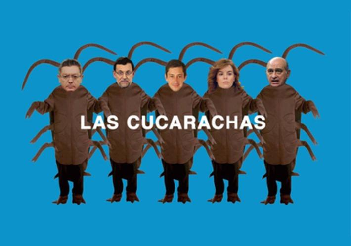 Las cucarachas - Vídeo de la PAH dedicado a la #Leymordaza del Partido Popular | Partido Popular, una visión crítica | Scoop.it