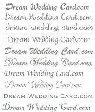 Dream Wedding Card - Invitation Fonts | Designer Wedding Cards | Scoop.it