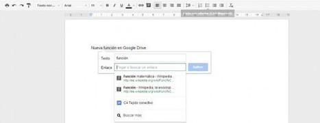 Google Drive añade un campo de búsqueda al insertar un enlace | Recull diari | Scoop.it