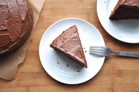 chocolate mayo cake | the tolerant vegan | My Vegan recipes | Scoop.it