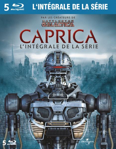 Caprica : l'intégrale de la série | Nouveautés DVD de la BU Sciences-Pharmacie Tours | Scoop.it