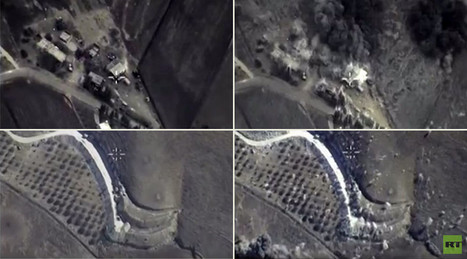 Combat cam footage shows Russian planes hitting ISIS targets | Global politics | Scoop.it