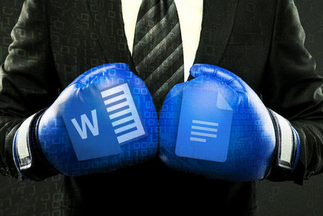 Microsoft Word vs. Google Docs: Which works better for business? | Distance Learning & Technology | Scoop.it