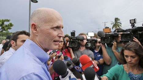 Scott, scientists sit down to talk climate change - Florida Today | Sustain Our Earth | Scoop.it