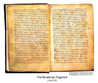 The Muratorian fragment, dated 170 A.D., affirms 22 out of 27 New Testament books | Newsworthy Notes - Archaeological Discoveries | Scoop.it