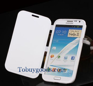 Brand New Luxury Leather Flip Case Stand Cover For Samsung Galaxy Note 2 II N7100 White   here are some good goods form tobuygoods   Scoop.it