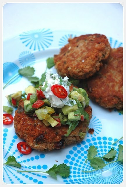 Low GI Mexican Fish Cakes with Avocado Salsa | My easy cooking by ... | mexicanismos | Scoop.it
