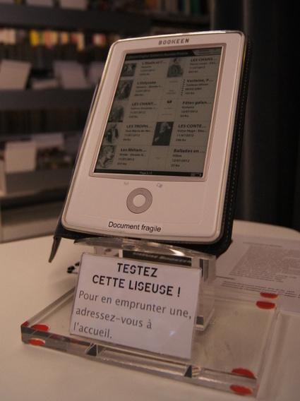 Liseuses | Pavillon Blanc Médiathèque - Centre d'Art de Colomiers | Prêt de liseuses et de tablettes en bibliothèque | Scoop.it