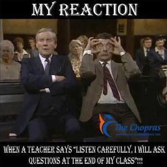 When a Teacher Says 'Listen Carefully' - Imgur | Study In UK | Scoop.it