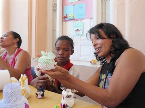 Taller de Origami incentiva en niños el amor por los libros | santiago en mi | Scoop.it