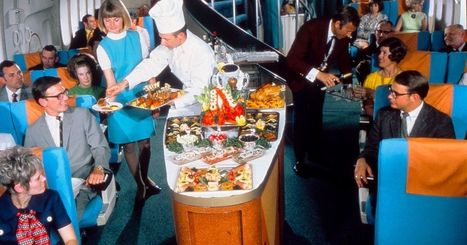 Vintage Scandinavian Airlines food will make you furious with envy | @FoodMeditations Time | Scoop.it