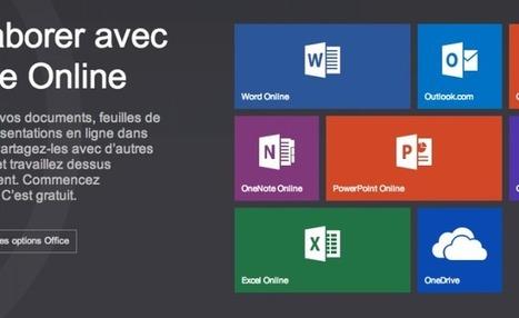 Microsoft lance enfin Office Online, sa suite bureautique en ligne gratuiteGizmodo | Outils et  innovations pour mieux trouver, gérer et diffuser l'information | Scoop.it