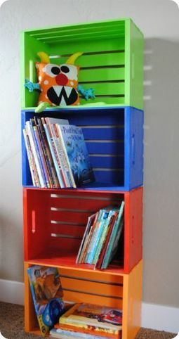 Great #DIY idea to organize kid books | Best DIY Pictures | Crunchy Parenting | Scoop.it