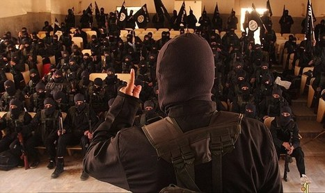 Chilling images show new generation of black balaclava-wearing ISIS fanatics graduating from school of terror in Syria | Focus World News - With Fillie Focus | Scoop.it