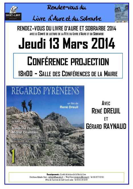 """Regards Pyrénéens"" à Saint-Lary le 13 mars 