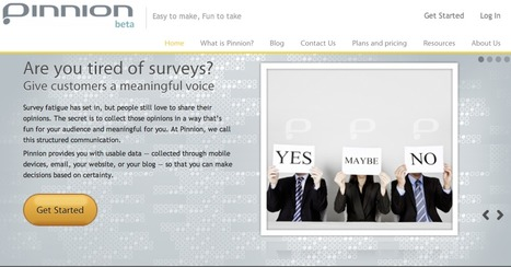 Pinnion - Easy to make, easy to take surveys | Leadership Think Tank | Scoop.it
