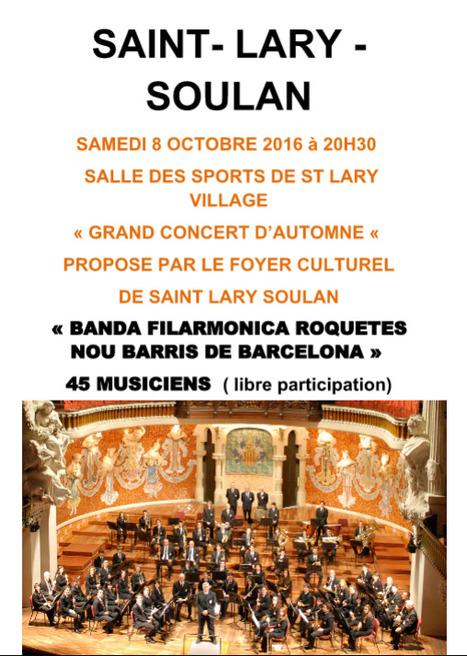 Concert d'automne à Saint-Lary Soulan le 8 octobre | Vallée d'Aure - Pyrénées | Scoop.it