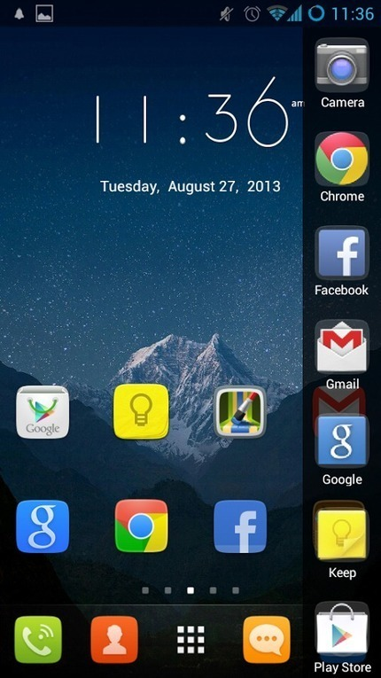 GO Launcher EX Prime v4.08 | ApkLife-Android Apps Games Themes | Shehab | Scoop.it