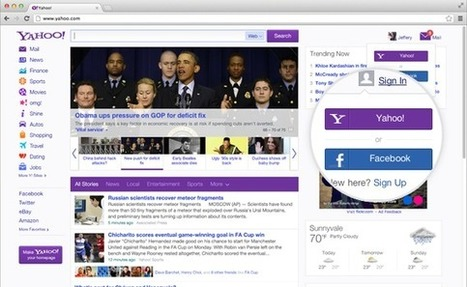Yahoo introduces redesigned home page | Understanding Social Media | Scoop.it