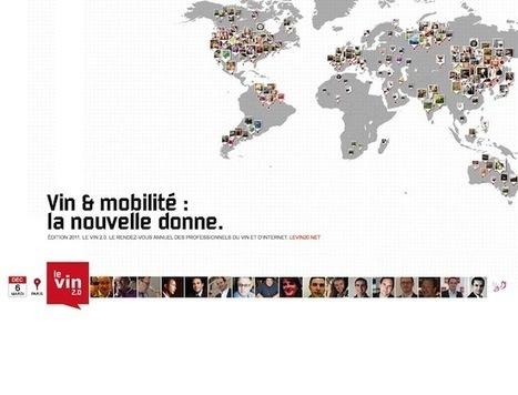 Vin & Mobilité: la nouvelle donne – Le Vin 2.0 | Oenotourisme33 | Scoop.it