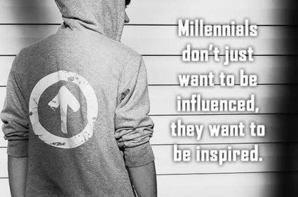 HOW TO INSPIRE AND INFLUENCE MILLENNIALS | Culturational Chemistry™ | Scoop.it