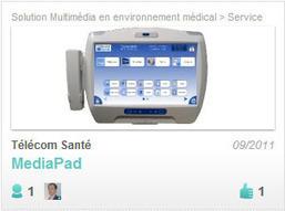 MediaPad, un terminal tactile à destination des patients !   Cabinet de curiosités numériques   Scoop.it