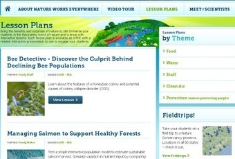 Nature Works Everywhere - free resources for learning about ... | inspiring | Scoop.it