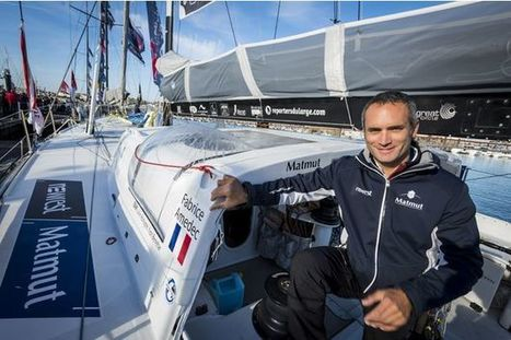 Vendée Globe - Fabrice Amédéo, le journaliste skipper | Volvo Ocean Race | Scoop.it
