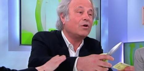 Franz-Olivier Giesbert découpe à son tour sa carte de presse | DocPresseESJ | Scoop.it