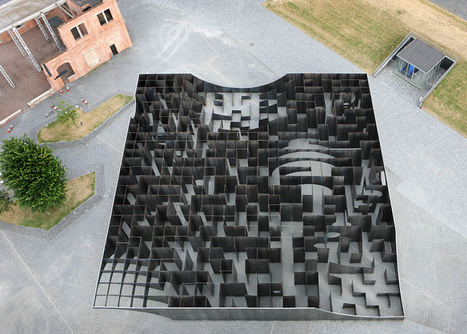 Gijs Van Vaerenbergh creates Labyrinth steel maze in Belgium | Art Installations, Sculpture, Contemporary Art | Scoop.it