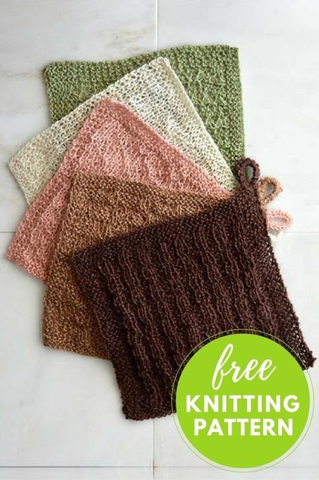 Stitch Sampler Washcloths Free Knitting Pattern | Fiber Arts | Scoop.it