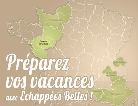 Préparez vos vacances avec Echappées Belles | French Authentic Texts | Scoop.it