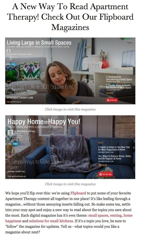 Embed Flipboard Magazines On Your Website or Blog | Flipboard | Libraries In the Middle | Scoop.it