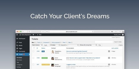 Catchers Helpdesk WordPress Plugin: Catch Your Client's Dreams | WordPress Plugins | Scoop.it