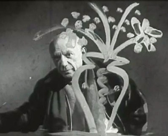 Vintage Footage of Picasso and Jackson Pollock Painting … Through Glass | Artifacts | Scoop.it