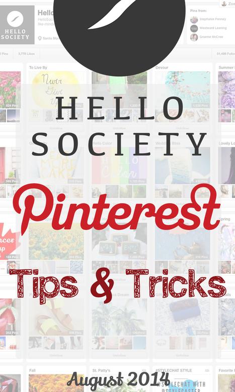 Pinterest Tips and Tricks: August 2014   Pinterest   Scoop.it