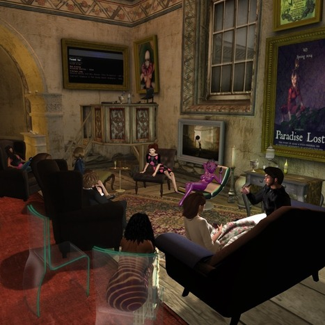 Cures for Loneliness in Second Life | Musings on the Metaverse | Scoop.it