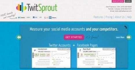 twitsprout – Estadísticas completas de tu cuenta de Twitter (y de la competencia)   comunity manager importancia en la empresa   Scoop.it