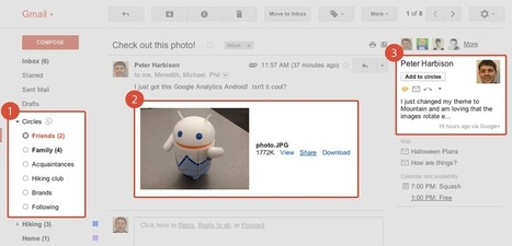 Google Mail gets better with Google+ – Google | Google Sphere | Scoop.it