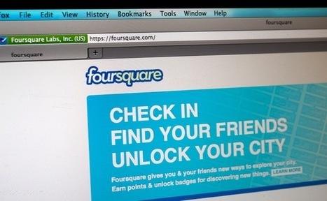 Foursquare, l'histoire de la chute d'un précurseur de la géolocalisation (en 3 étapes) | Réseaux sociaux, Blogs, Brand content et Astuces | Scoop.it
