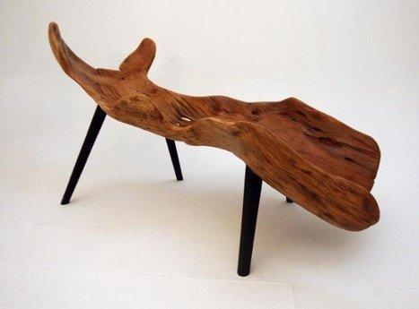 Reclaimed wood furniture | Home & Garden | Scoop.it
