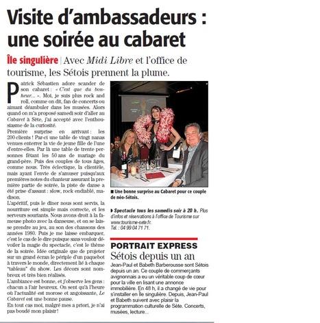Strass et paillettes | Sète Tourisme : les ambassadeurs-reporters sur le terrain | Scoop.it