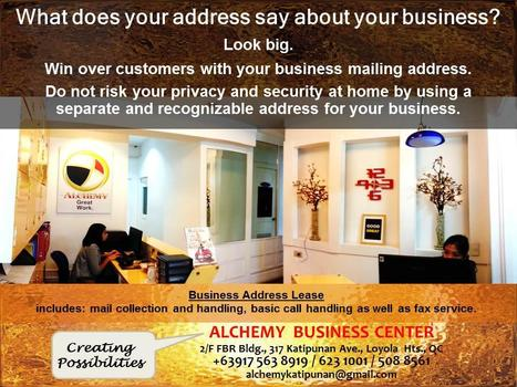 What does your address say about your business? | Katipunan Gazette | Scoop.it