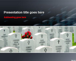 Free Cemetery Tombstones PowerPoint Template | Free Powerpoint Templates | tumb | Scoop.it