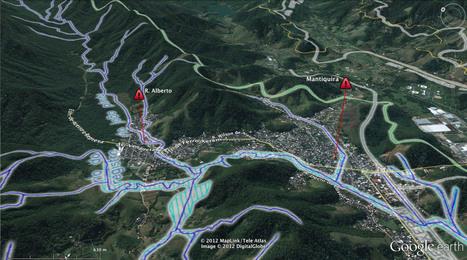 Xerém: estudo de 1996 antevê com precisão locais de enchente | Geoflorestas | Scoop.it