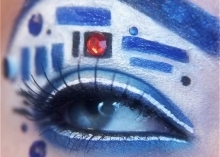 Geek eye makeup puts 'Star Wars,' Avengers on your face | Vulbus Incognita Magazine | Scoop.it